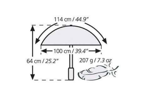 Swing Lite-Flex Umbrella - Silver
