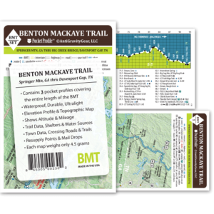 Benton Mackaye Trail Pocket Profile Set