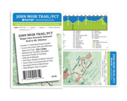 JMT Pocket Profile Map