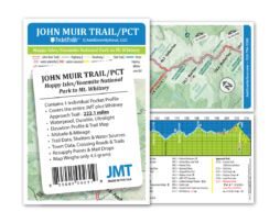AntiGravityGear JMT Pocket Profile Map