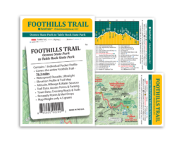 Pocket Profile Map Foothills Trail