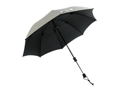 Swing Handsfree Umbrella Silver