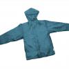 Steel Blue Ultralight Rain Jacket with Pit Zips