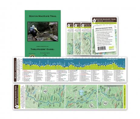 Benton MacKaye Trail Thru Hiker's Guide and Pocket Profile Set