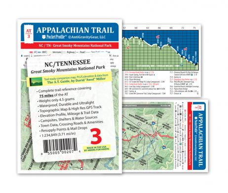 AntiGravityGear Appalachian Trail Pocket Profile: AT-03