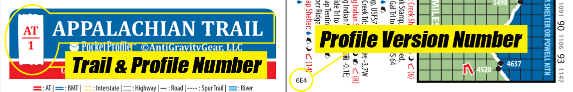 Pocket Profile Version Number Locator