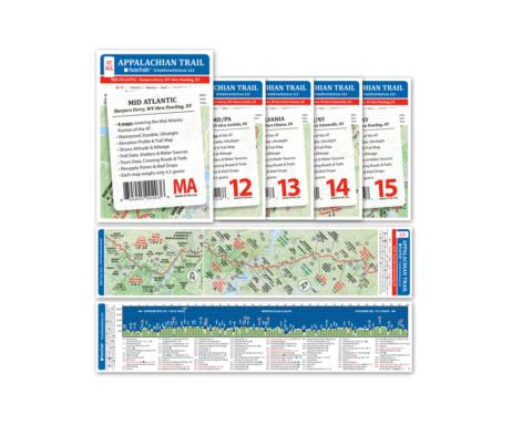 Appalachian Trail Pocket Profile Set: Mid Atlantic
