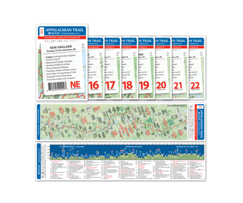 Appalachian Trail Pocket Profile Set: New England