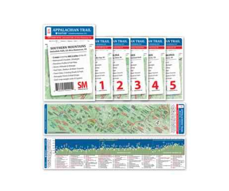 Appalachian Trail Pocket Profile Set: Southern Mountains