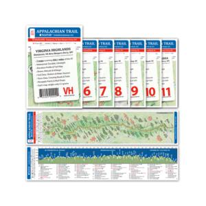 Appalachian Trail Pocket Profile Set: Virginia Highlands