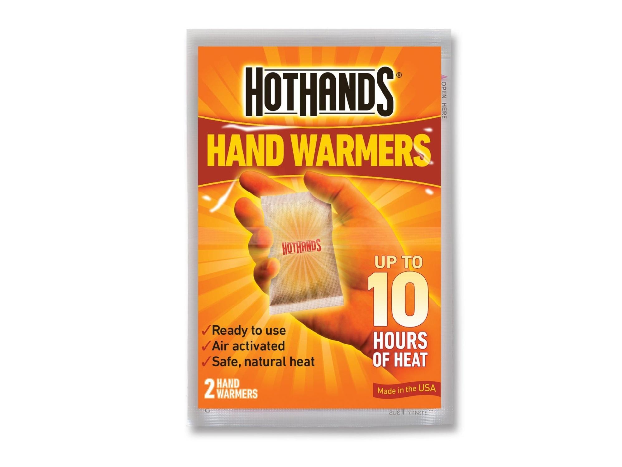Hot Hands Hand Warmers Packs Pocket Heat