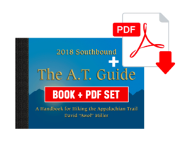 2018 SoBo A.T. Guidebook & PDF Combo