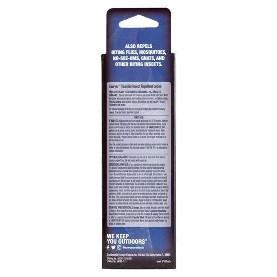 Picaridin Insect Repellent Lotion - 2 oz