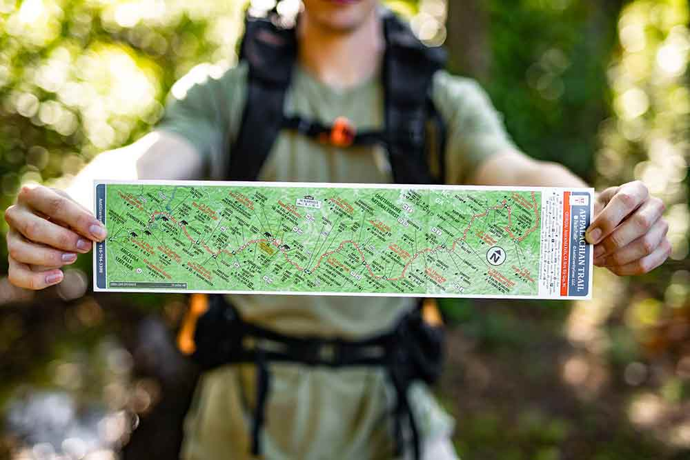 Appalachian Trail Pocket Profile Maps