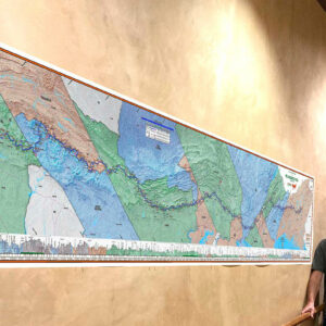 Red Eft Mapping 10'x2' Appalachian Trail Wall Mural